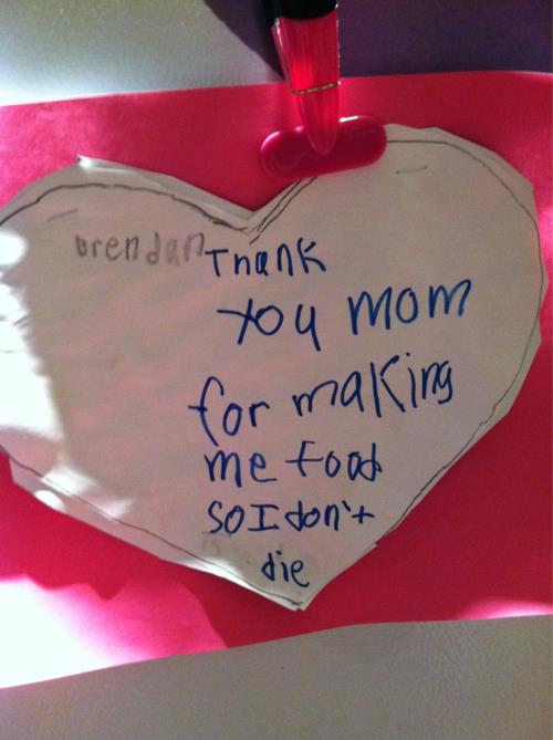 Thank You Mom - Funny  Mother's Day Card