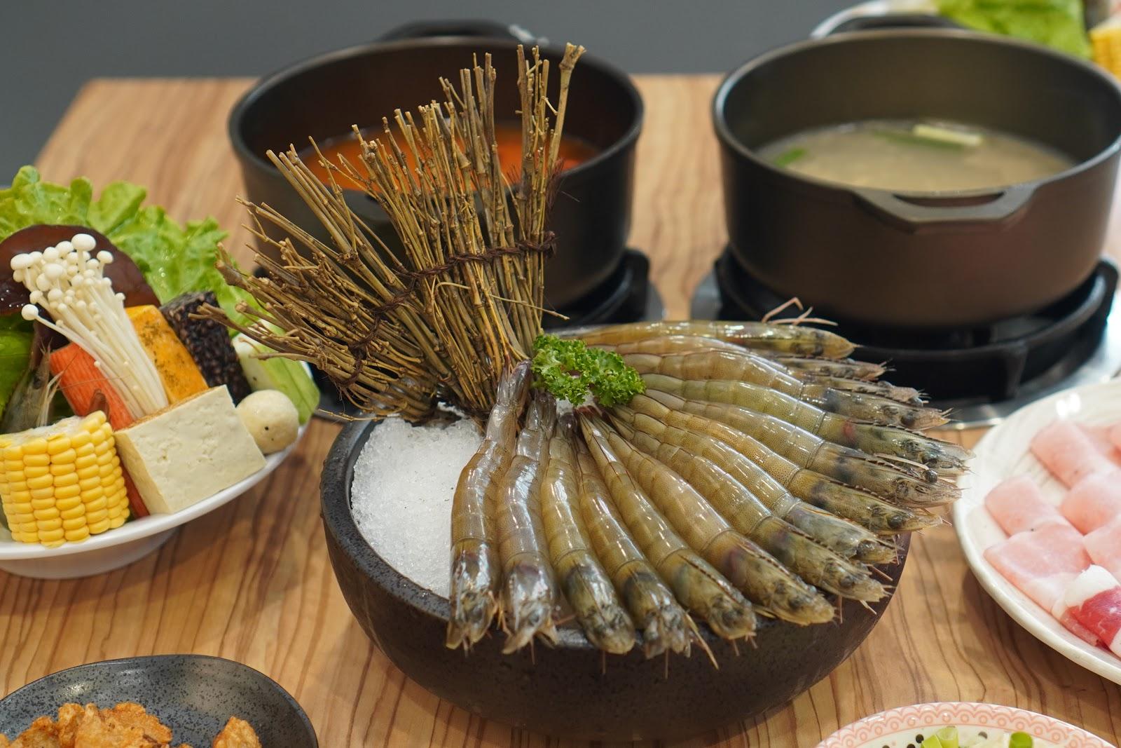 台南中西區美食【小蔡什鍋】餐點介紹 大白蝦