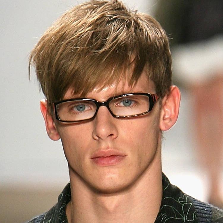 Men S Haircuts Long Hair Glasses