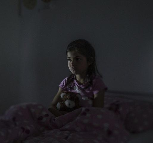 anak-anak pengungsi Syria