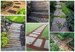 12 ไอเดียโดนใจ ทางเดินในสวนหลังบ้าน ให้สวนสวยของเราน่ามองยิ่งขึ้น