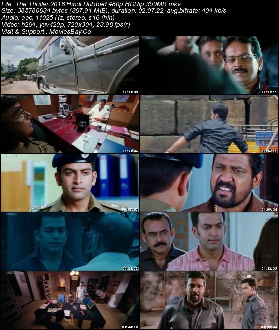 The Thriller 2018 Hindi Dubbed 480p HDRip 350MB worldfree4u