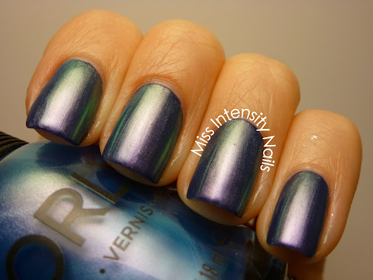 NOTD - Surreal Monet Layering