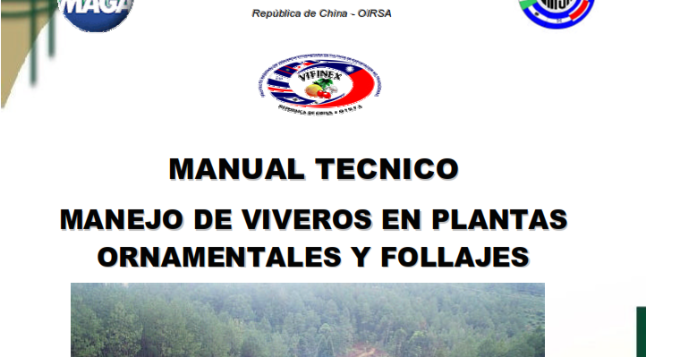 Libros De Agronomia Pdf Gratis Manual T Cnico De Manejo