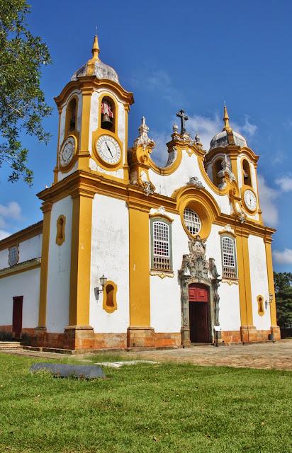 Matriz de Santo Antônio, em Tiradentes.