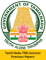 Tamil Nadu TRB Lecturer Previous Papers