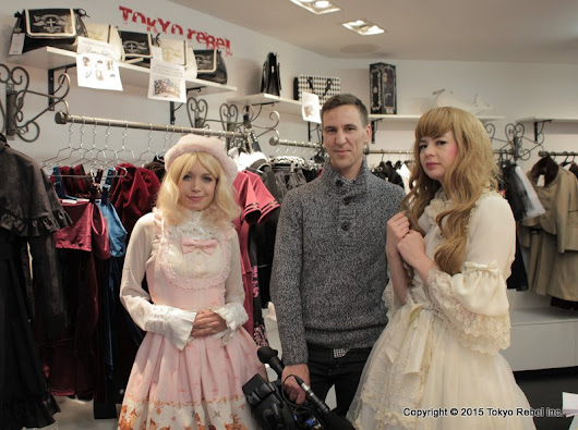 Tokyo Rebel: Elle Québec feature on Lolita fashion at our store!
