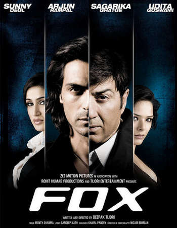Poster Of Fox 2009 Hindi 350MB DVDRip 480p ESubs Free Download Watch Online