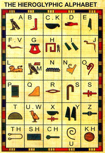 福克斯的古埃及文學校(Hieroglyphs+象形文字)