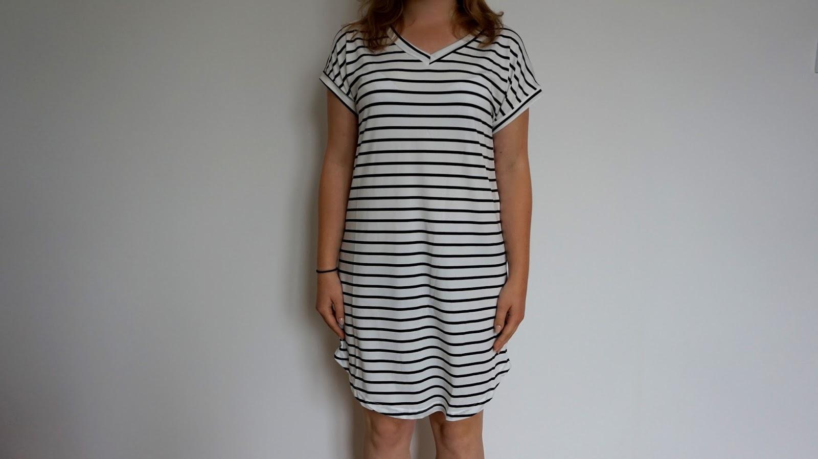 1fdade4d4e RECENZJA  Letnia sukienka w paski
