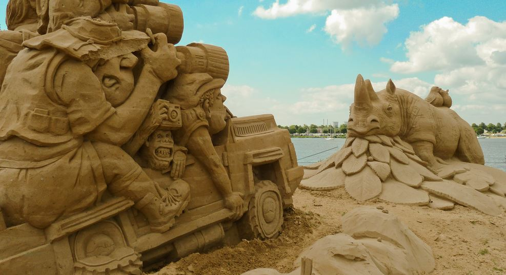 Safari - Amazing Sand Sculptures You Have to See to Believe