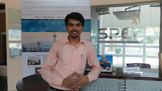 Zohaib Jahan at SPEC Office Lahore