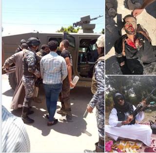 قوات الأمن تتبادل اطلاق النار مع عصابة شحتو اسفرت عن مقتله  جنوب الأقصر