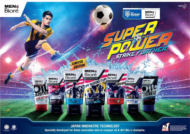 MEN'S BIORE Sebagai Penaja Utama Piala AFF SUZUKI 2018