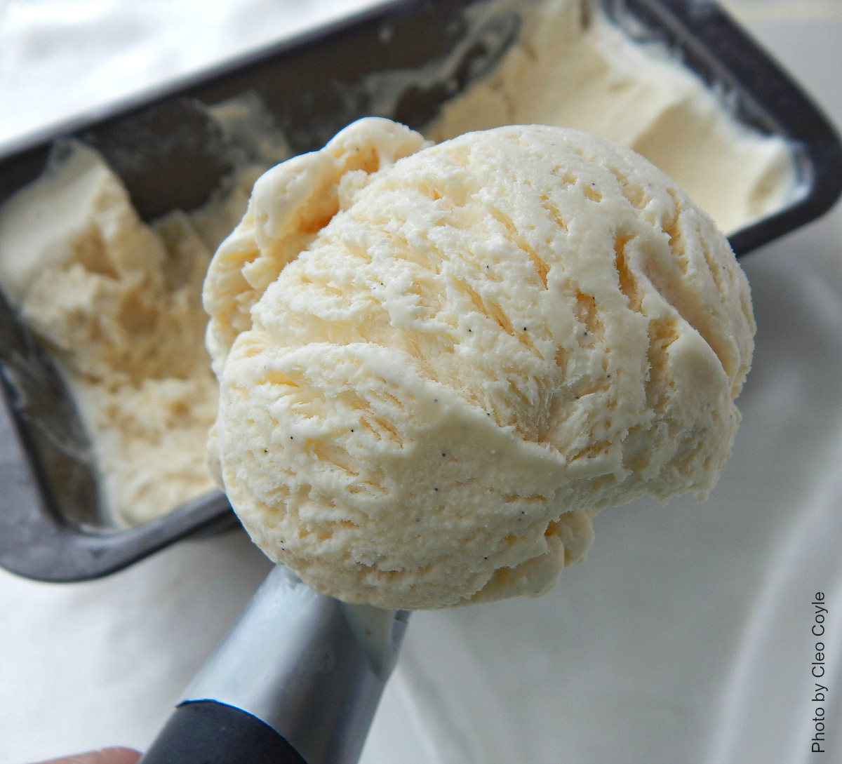 Mystery lovers kitchen how to make easy no churn vanilla bean ice now lets get our ice cream on ccuart Gallery