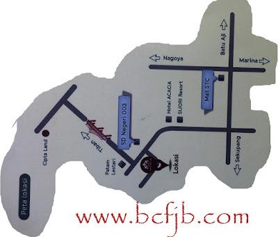 Peta Lokasi perumahan murah di kota batam 2016