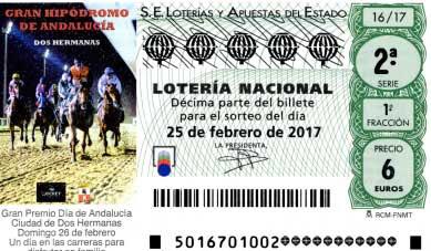 loteria nacional hoy sabado 25-02-2017