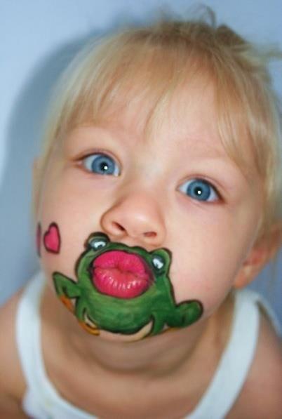 Craft Art Ideas Cute Face Paint