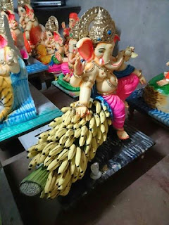 Ganesh Festival Statue