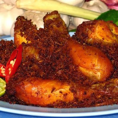 Resep Ayam Goreng Bumbu Lengkuas