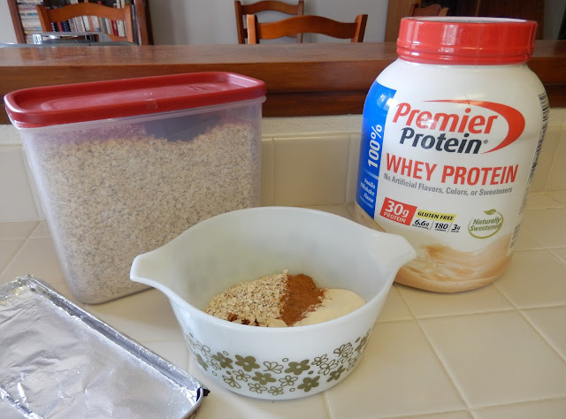 Cinnamon%2BPP%2BProtein%2BGranola%2BRecipe%2B1 Weight Loss Recipes Banana Fosters Premier Protein Pudding Jars