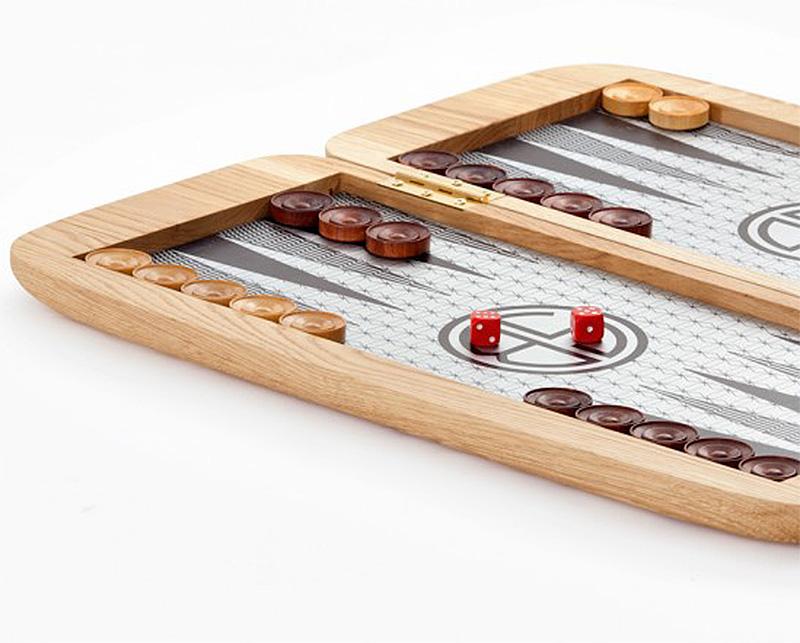 Uber Stylish Backgammon Set by Arik Ben Simhon and Ben Frankforter