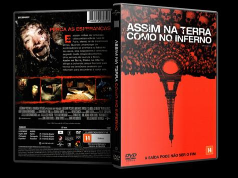 Capa DVD Assim na Terra Como no Inferno