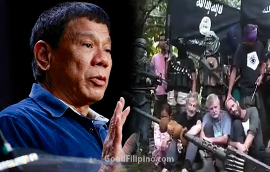 Duterte promise to STOP Abu Sayyaf kidnapping