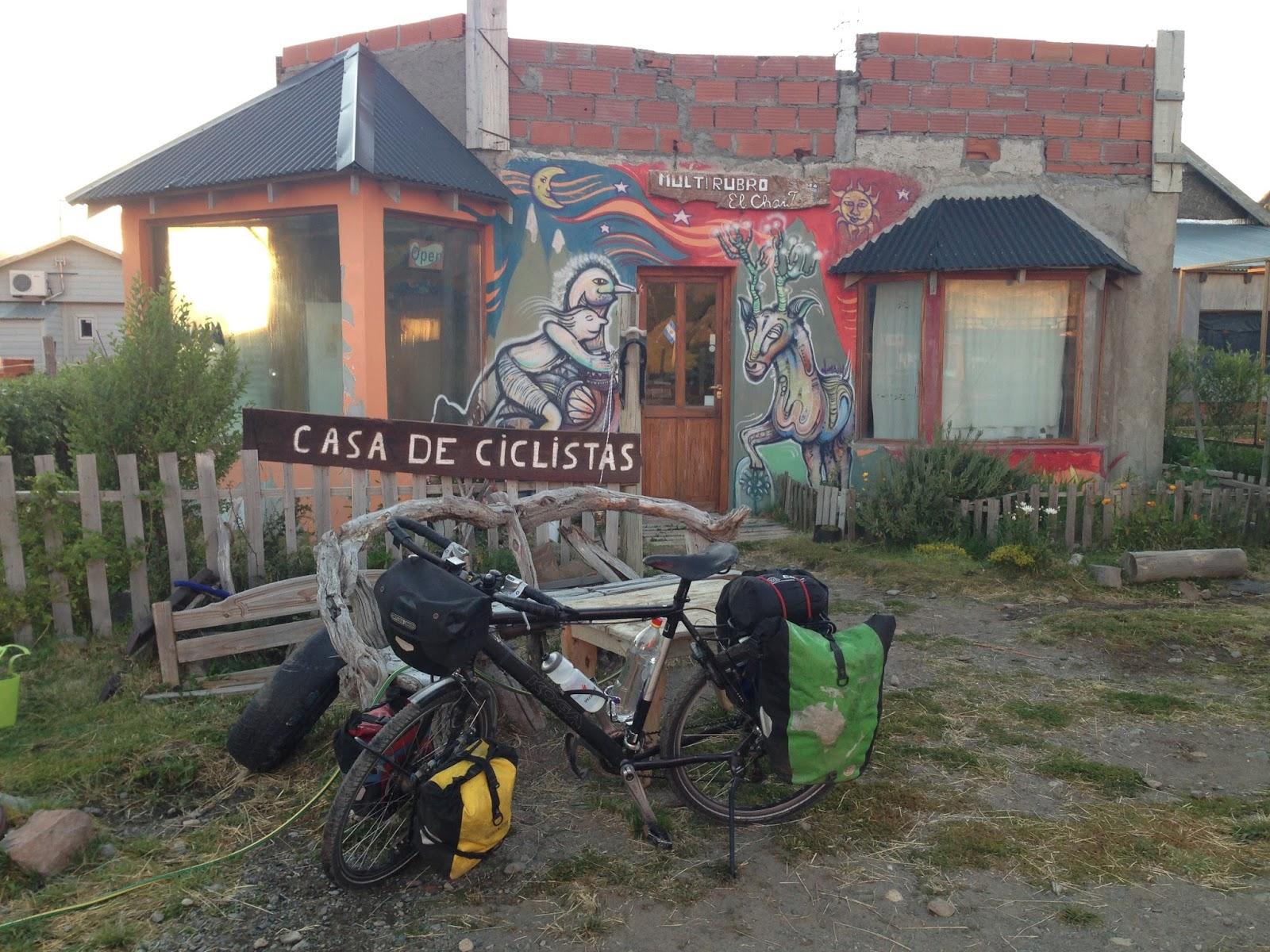 loto mojo bicycle touring chilean patagonia