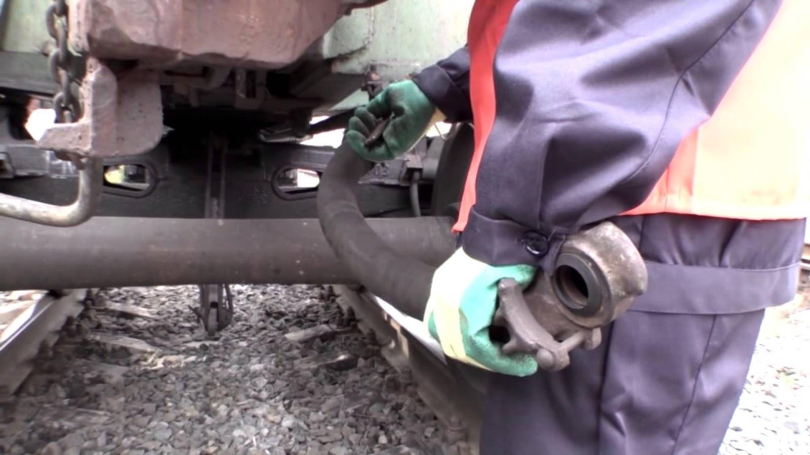 прицепка локомотива к составу 151 инструкция