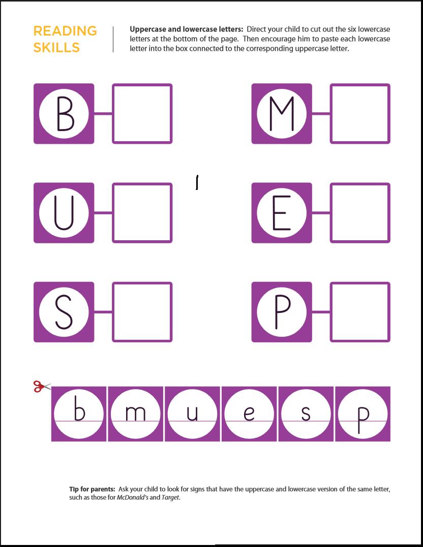 Upper And Lowercase Worksheets Kindergarten