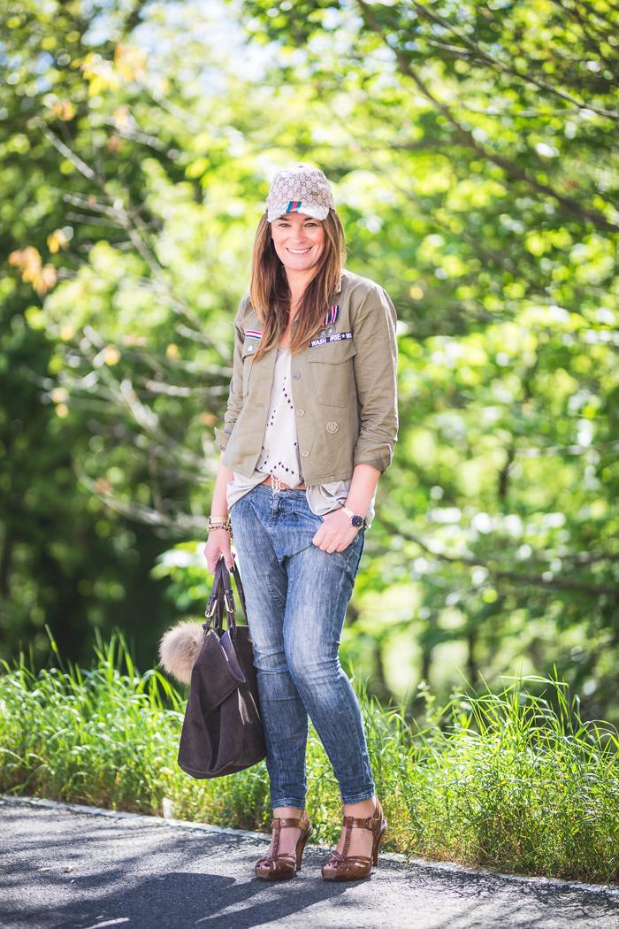 Chaqueta militar , Shop online , es cuestión de estilo , Personal Shopper , Lucía Díez