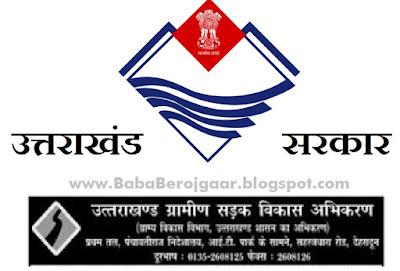 Lekhakar post in Uttarakhand Gramin Sadak Vikas Abhikarn, Sahastrdhara, Dehradun
