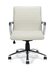 Offices To Go OTG11734B Ribbed Back Chair