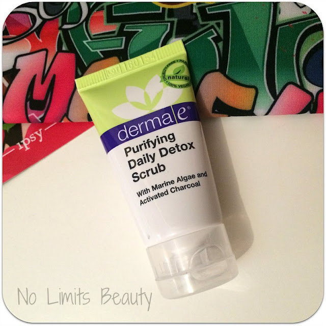 Ipsy Junio 2016 - Derma e Purifying Daily Detox Scrub