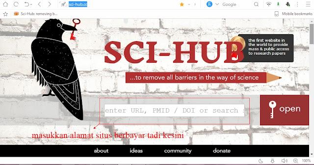 cara menggunakan google schoolar, cara menggunakan sci-hub cara download jurnal berbayar menjadi gratis cara menggunakan google schoolar, cara menggunakan sci-hub pembuka kunci