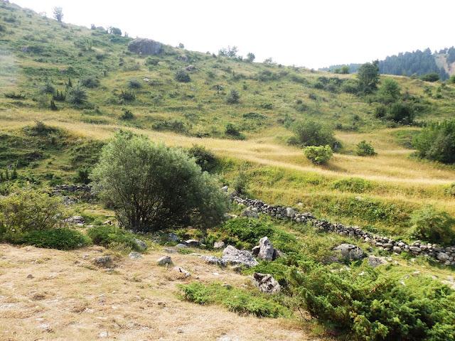 Początek próby wyjścia na najwyższy szczyt Albanii i Macedonii - Golem Korab/Maje e Korabit (2764 m.n.p.m.)