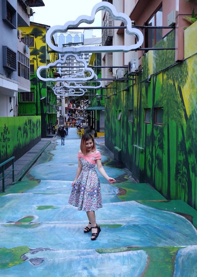 Malaysian Lifestyle Blog: Insta-worthy Street Art Spots @ Jalan Alor, Kuala Lumpur