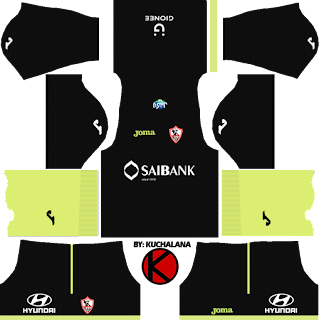 Al-Zamalek SC Kits 2017/18 - Dream League Soccer