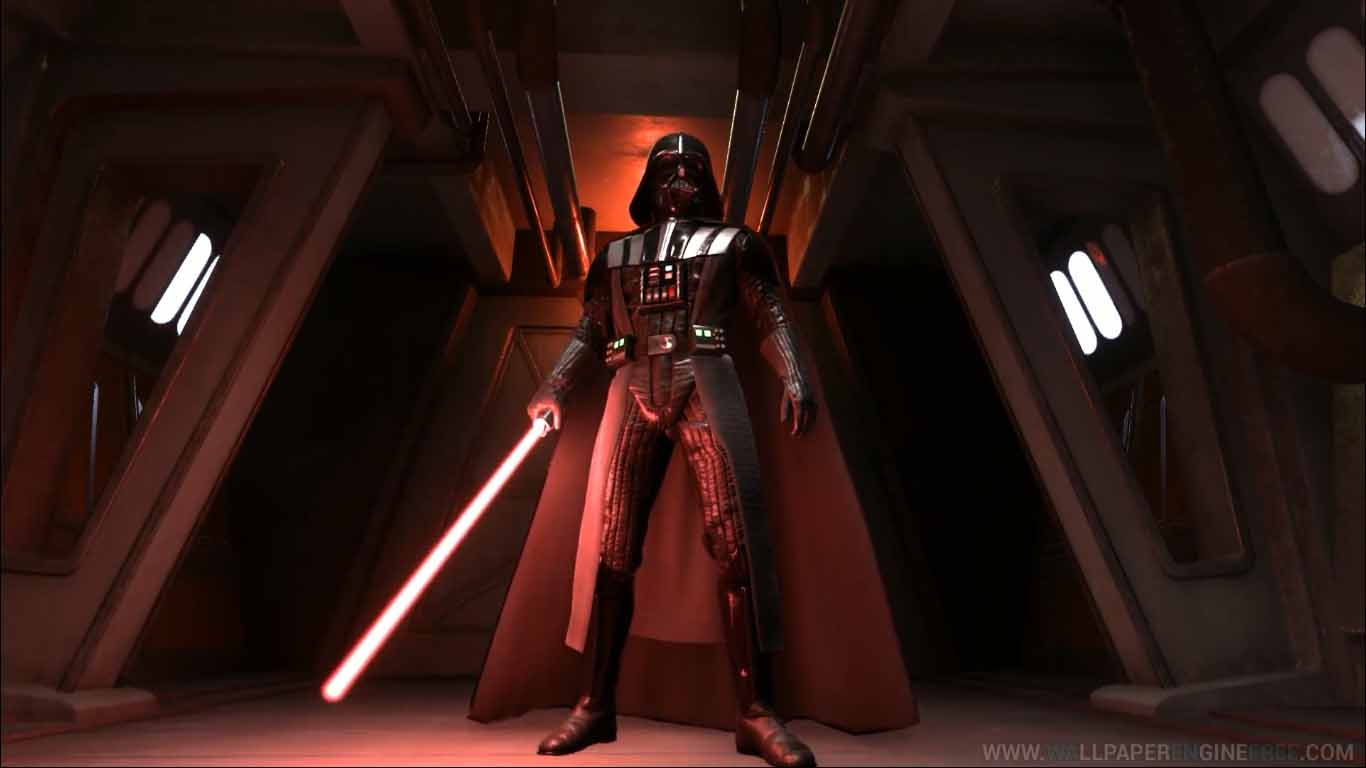 Download Star Wars Battlefront Darth Vader Rogue One Dark Hallway