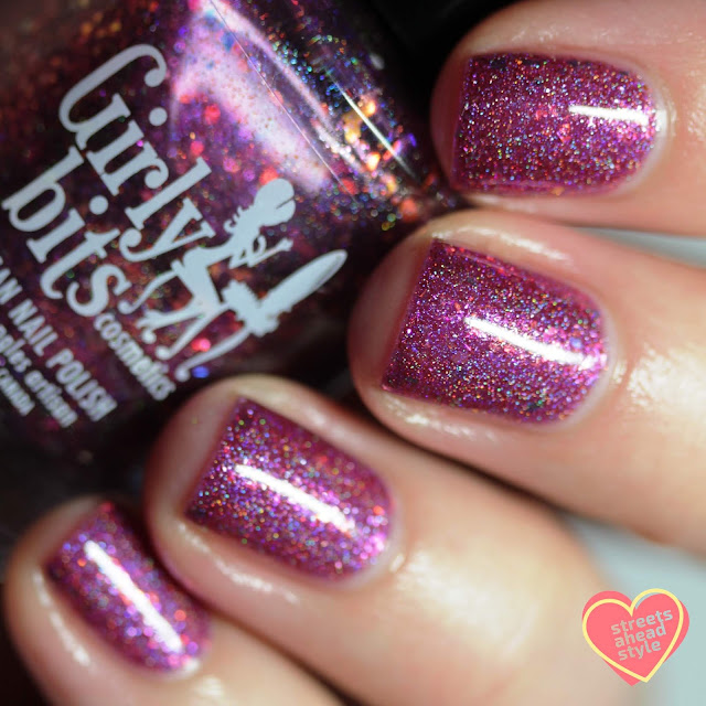 Girly Bits I Must Not Tell Lies swatch by Streets Ahead Style