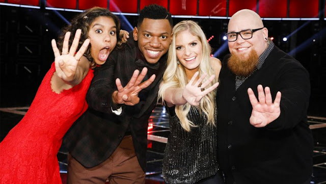 Final Contestants of The Voice Season 12