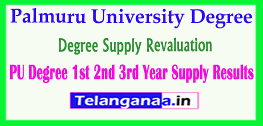 Palmuru University Degree Supply Revaluation Results 2018