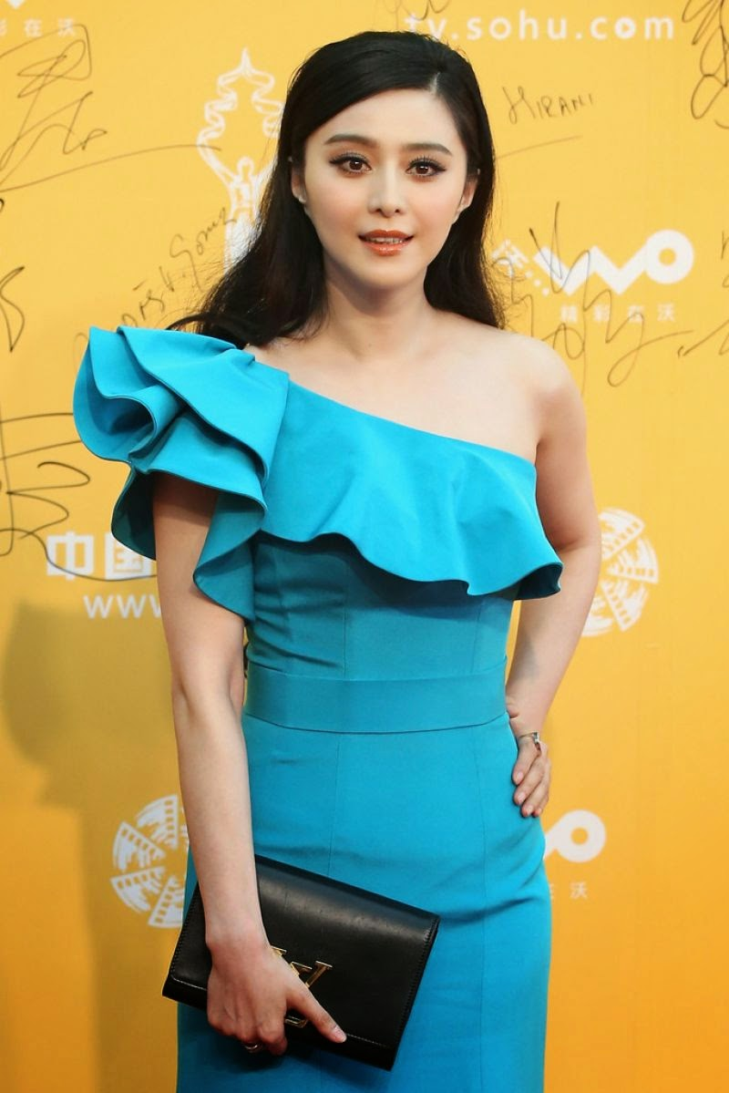 Fan Bingbing wears a Zhang Shuai look at the 4th Beijing Film Festival