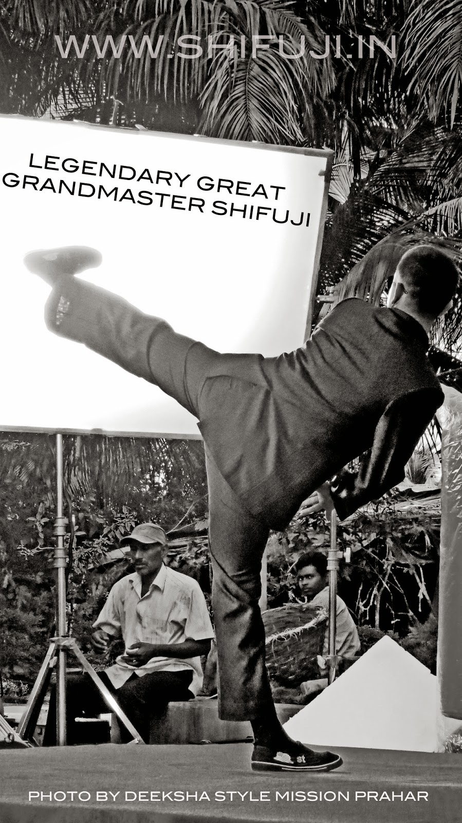 Grandmaster Shifuji Commando Trainer