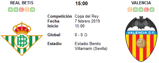Real Betis vs Valencia en VIVO
