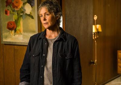 Carol Peletier (Melissa McBride) nell'episodio 8