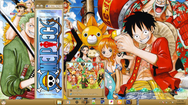 One Piece Theme Win 7 by Enji Riz Lazuardi