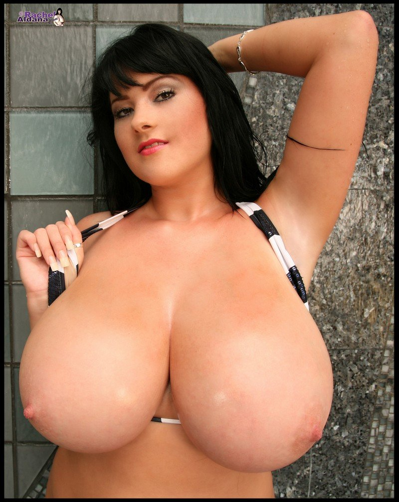 Rachel Aldana Huge Breasts 32L - Big Sexy Boobs-5279