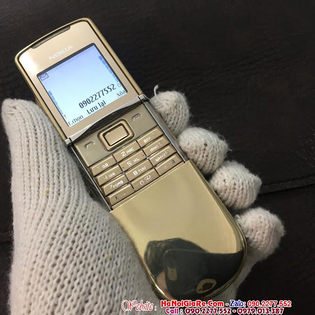 www.123nhanh.com: Điện thoại cổ nokia 8800 sirocco gold chính hãng ^*$.